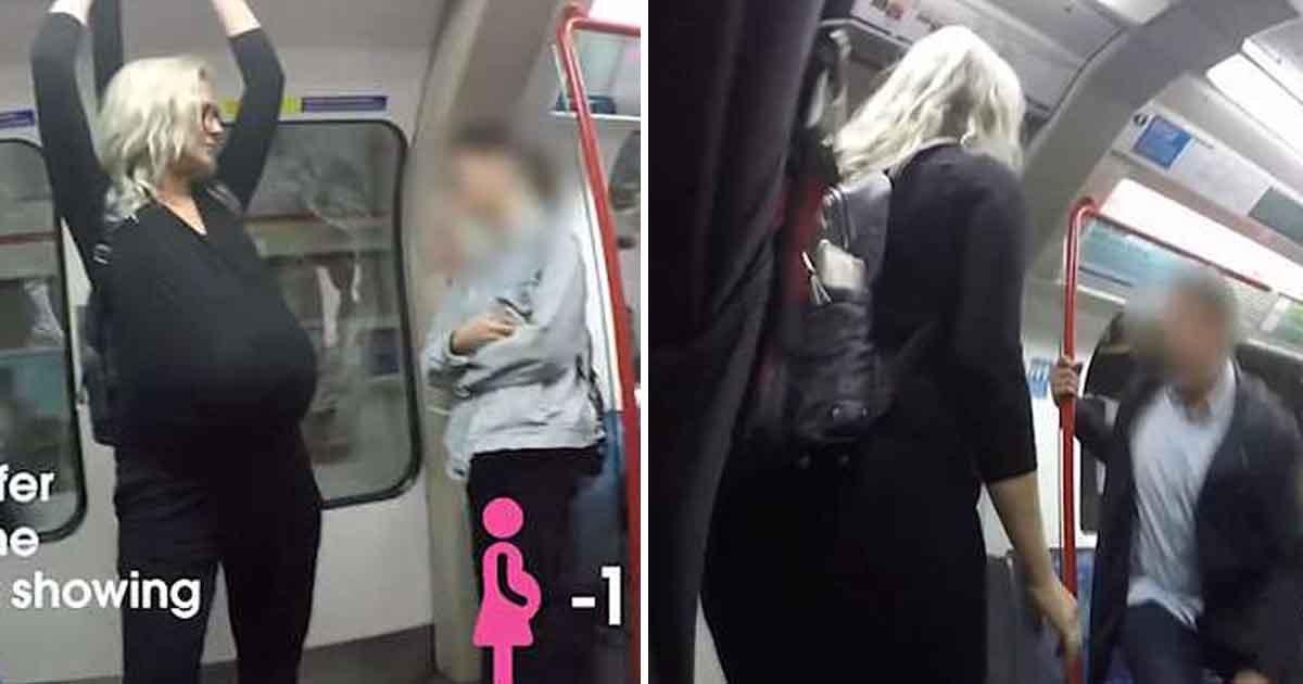 adfasd.jpg?resize=300,169 - Londres : les usagers refusent de laisser leur siège à une femme très enceinte un métro bondé