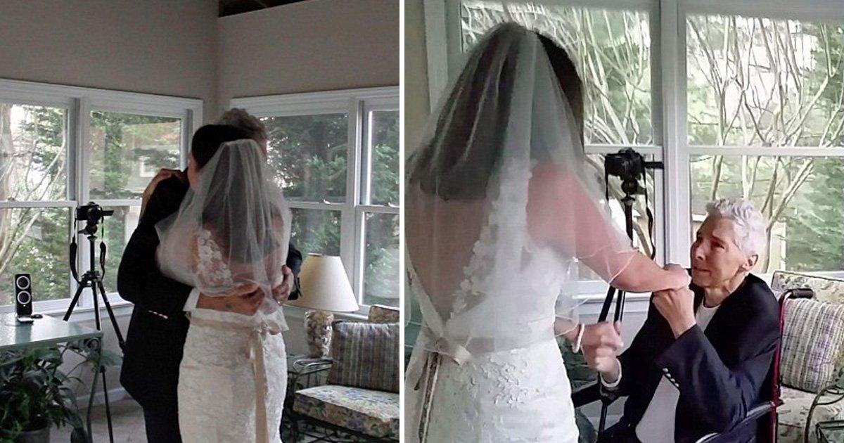 afa 1.jpg?resize=366,290 - Filha organizou uma dança de casamento emocionante com seu pai, depois de saber que ele morreria de câncer antes que ela pudesse se casar
