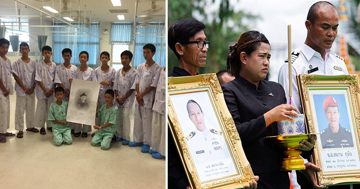 afafa 1.jpg?resize=366,290 - Thai Boys Who Were Rescued From The Flooded Cave Offer Their Obituary To The Ex-Navy Seal