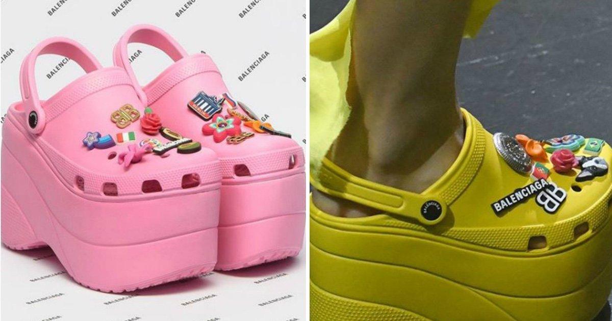afafa.jpg?resize=1200,630 - Se você curte Crocs, precisa ver os sapatos de salto alto da marca