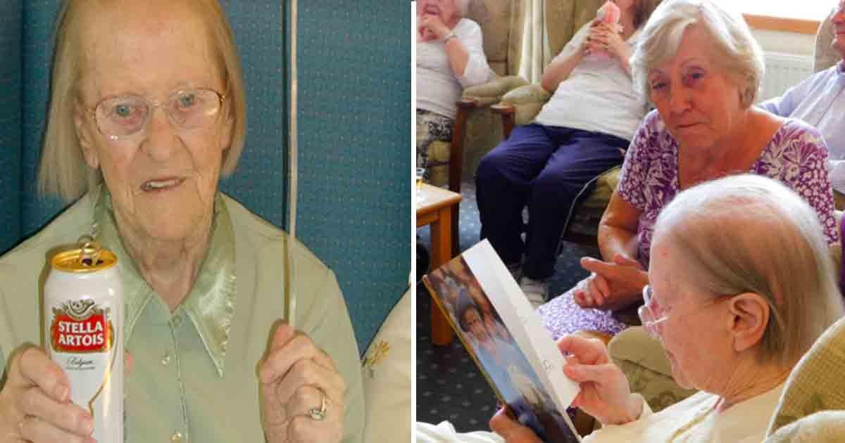 afafaa.jpg?resize=1200,630 - Une femme âgée de 100 ans donne explique sa longévité grace à une célèbre bière belge !