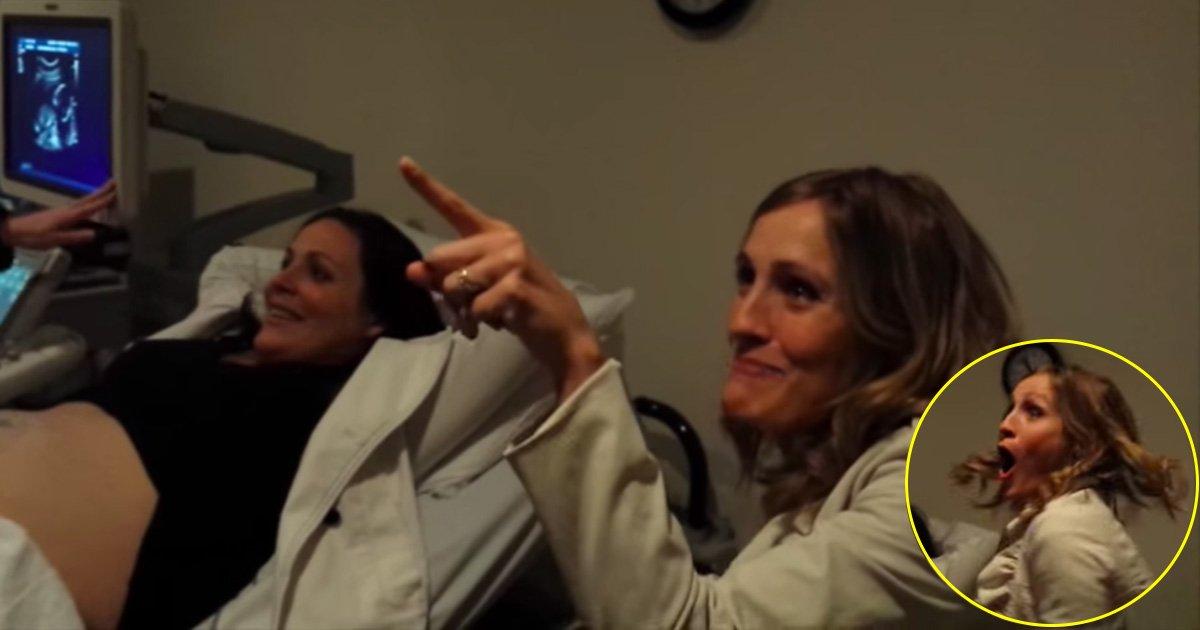 afdfa.jpg?resize=1200,630 - Une jeune femme est remplie de joie en apprenant que sa soeur attend des jumeaux