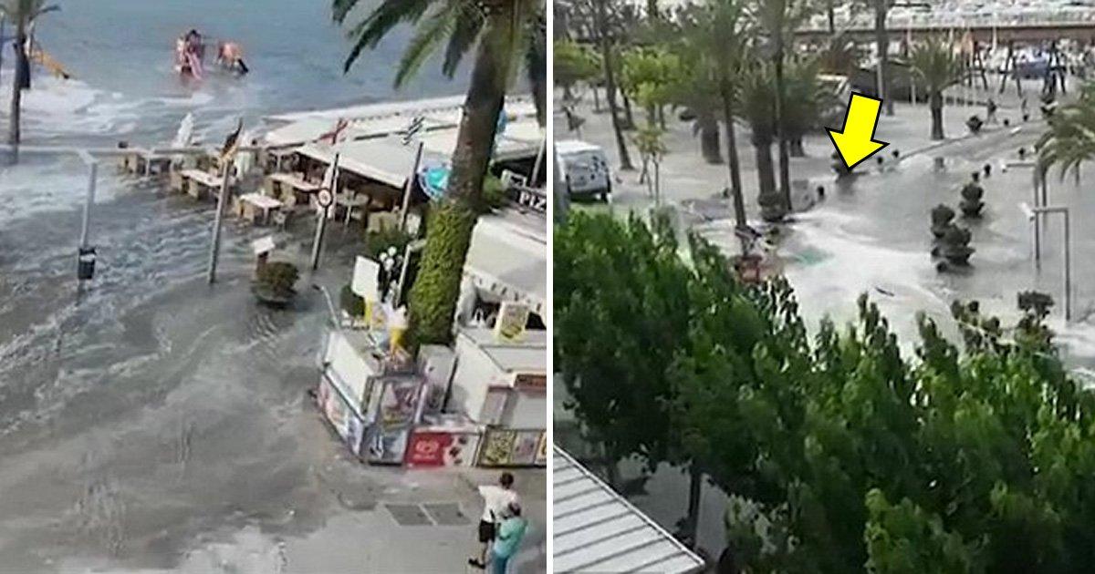 affaa.jpg?resize=366,290 - Tsunami Strikes Spanish Islands Of Majorca And Menorca Flooding Resorts And Deluging Roads
