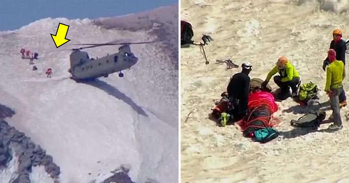 afs.jpg?resize=636,358 - Chinook Pilot Helps Rescue a Man From Committing A Suicide From Oregon's Tallest Mountain