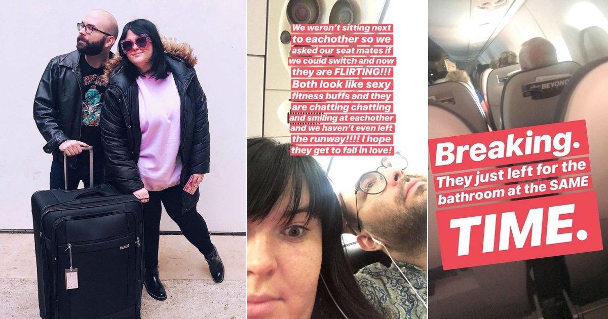 air.jpg?resize=1200,630 - Mulher relata ao vivo pelo twitter a história de dois estranhos flertando em um avião e a internet está amando