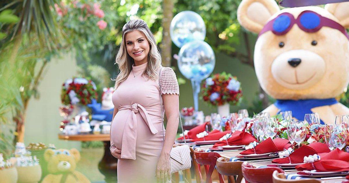 andressa.png?resize=648,365 - Andressa Suita e Gusttavo Lima fazem chá de bebê para o segundo filho