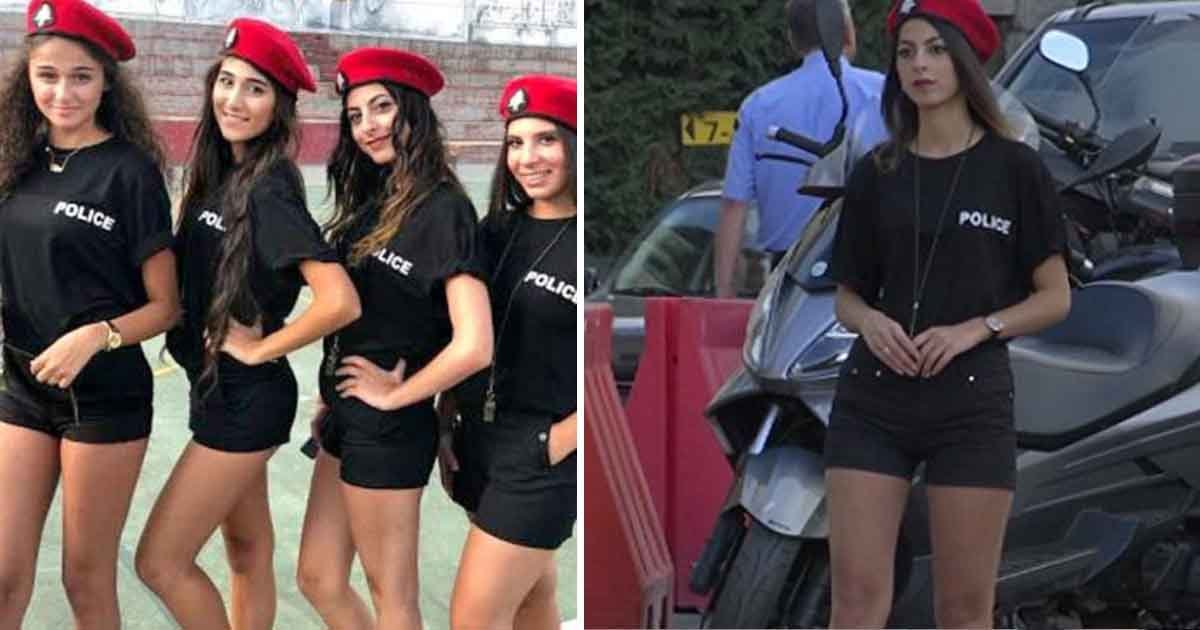 asdf 2.jpg?resize=412,232 - Au Liban, pour inciter le tourisme, les femmes agents de la circulation portent des shorts courts
