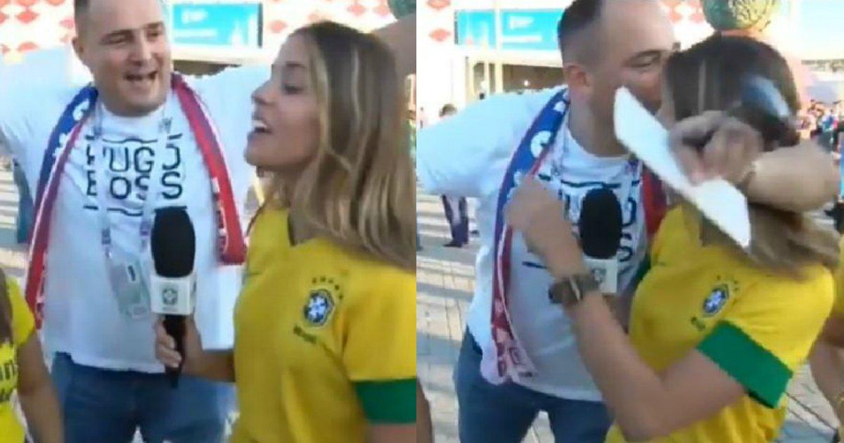 assedio.png?resize=1200,630 - Após caso de assédio na Copa, repórter desabafa e é apoiada pela CBF