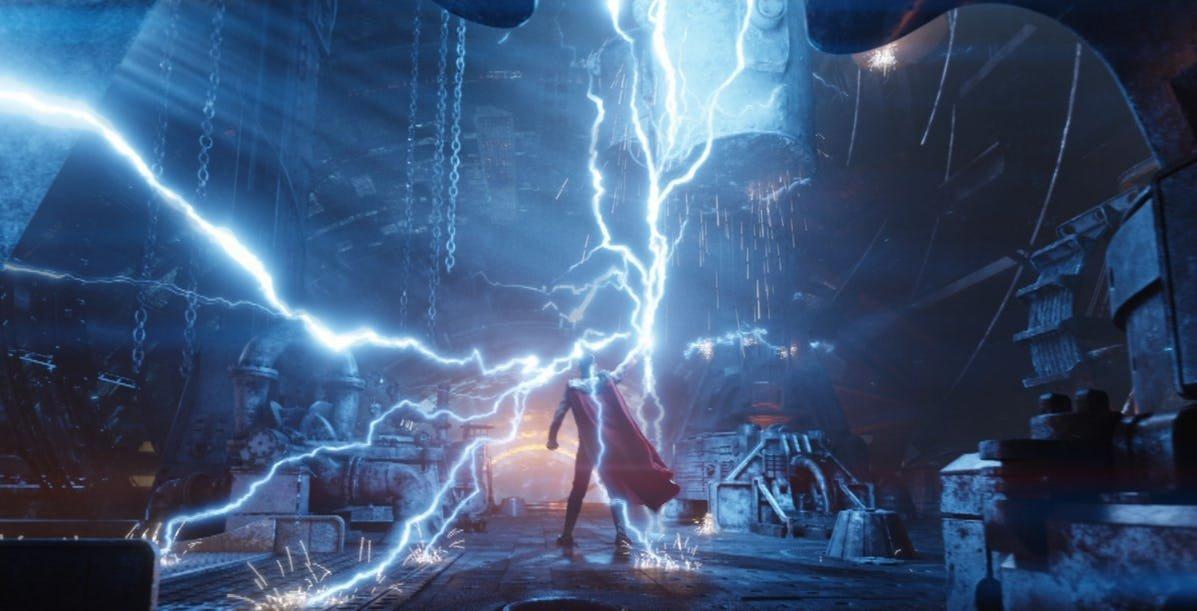 avengers infinity war thor lightning.jpg?resize=412,275 - The 28 Strongest Marvel Heroes Officially Ranked