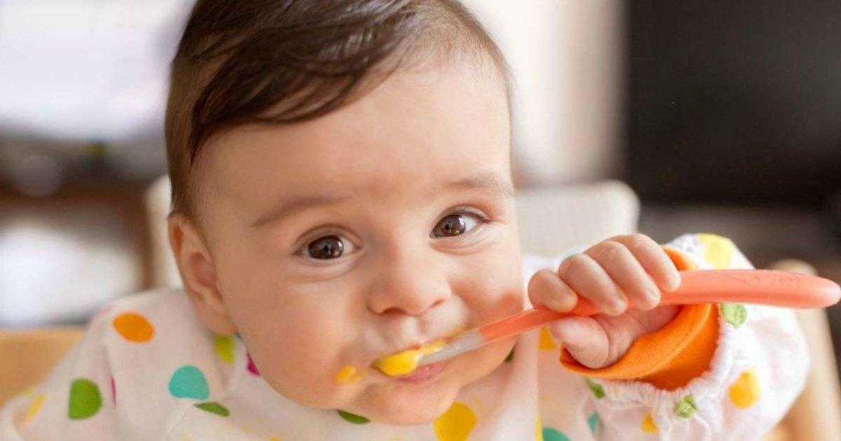 babyeating.png?resize=1200,630 - Comer 1 ovo por dia deixa crianças mais altas e fortes, diz estudo