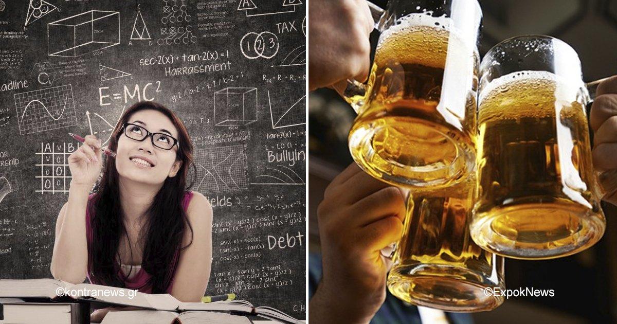 beer.jpg?resize=412,232 - Este estudio señala que las mujeres que toman más alcohol son más inteligentes