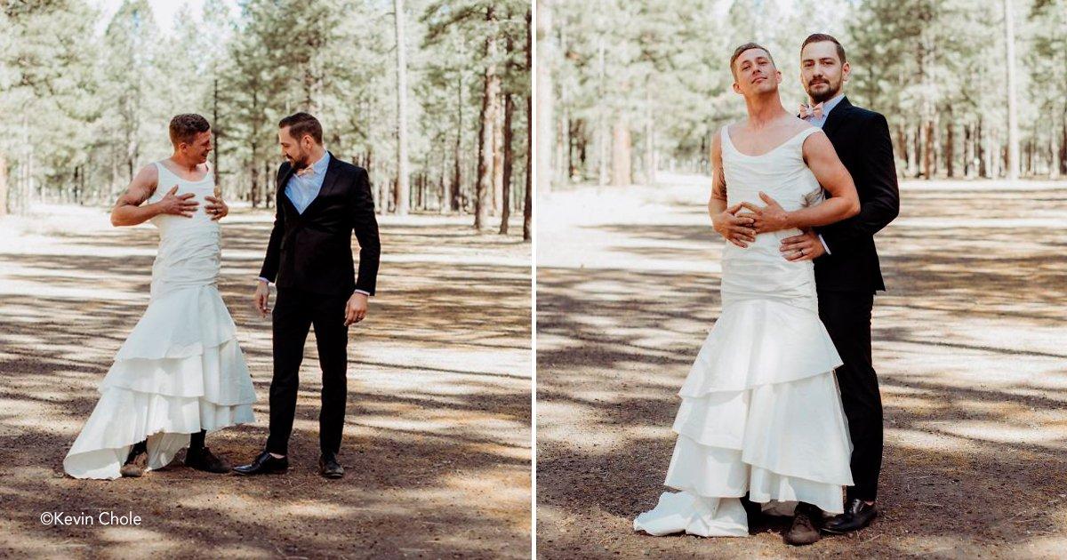 """boda.jpg?resize=1200,630 - Noiva envia seu irmão para """"foto de teste"""" em vez dela, e a reação do noivo é impagável"""