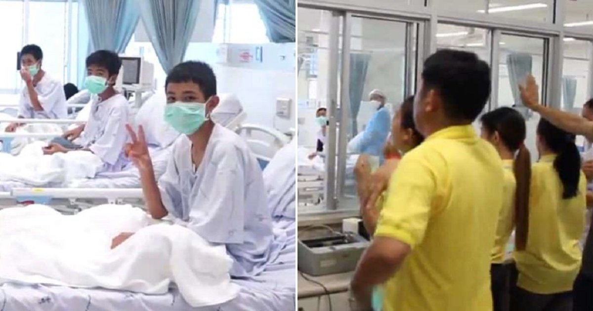 boyss.jpg?resize=648,365 - Rescued Thai Soccer Team Makes First Video Appearance Since Their Historic Rescue