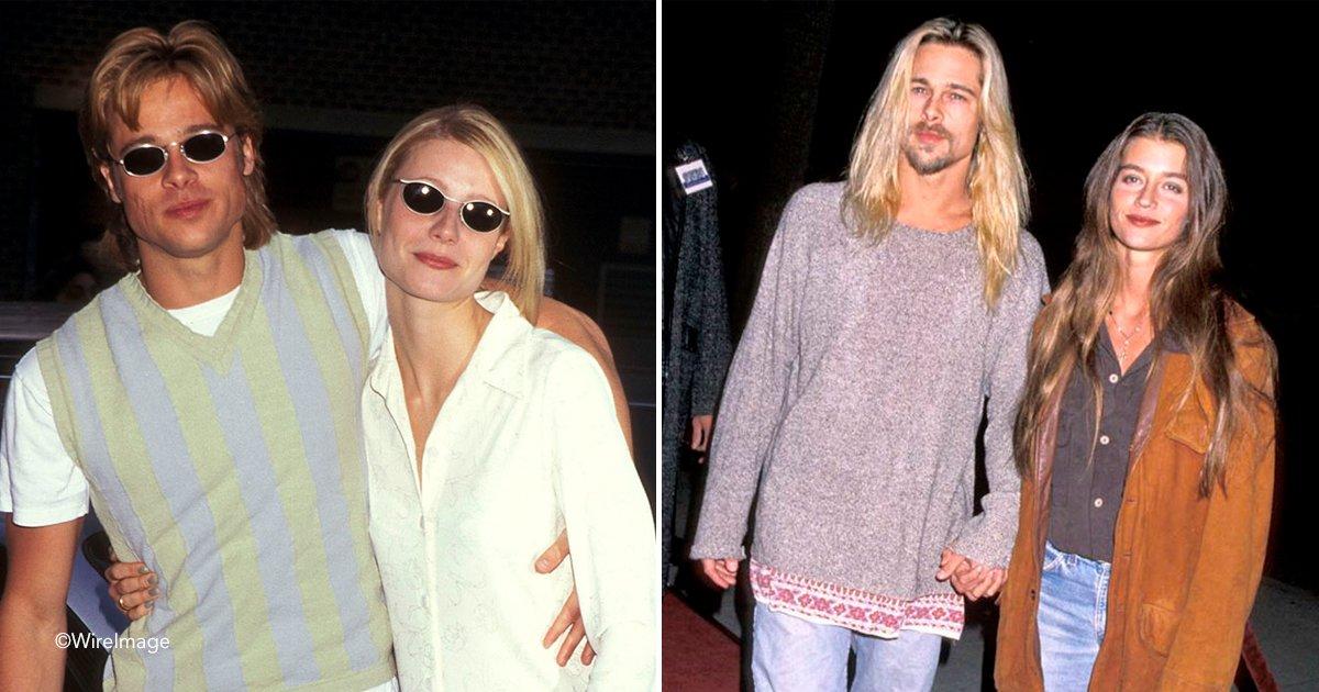 brad.jpg?resize=300,169 - Alguien se dio cuenta de que Brad Pitt siempre se parece a la mujer con la que está saliendo