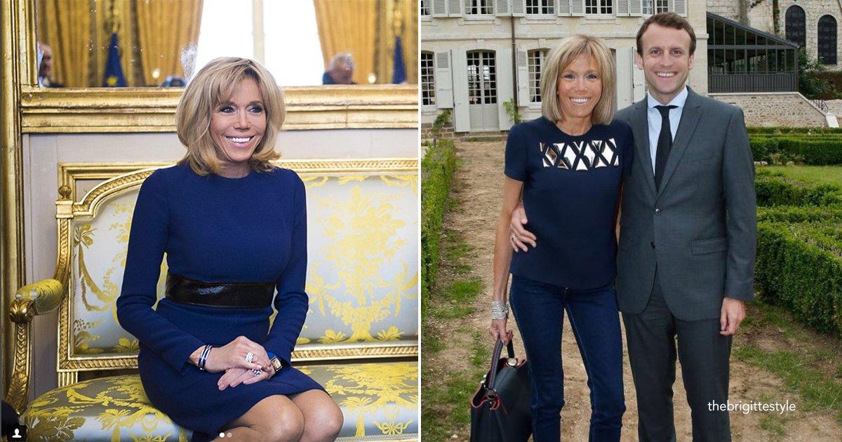 brifg.jpg?resize=412,232 - Los secretos para seguir siendo atractiva y joven de Brigitte Macron, primera dama de Francia