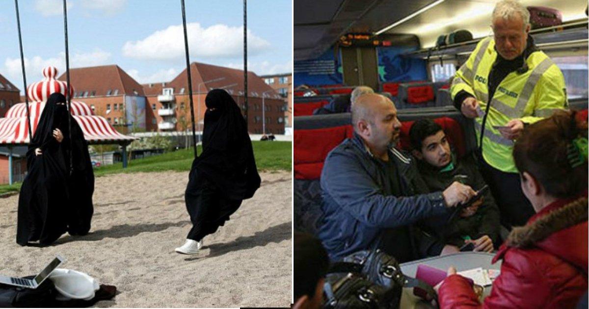 burka ban.jpg?resize=1200,630 - Le Danemark prend des mesures strictes afin d'intégrer ses migrants.