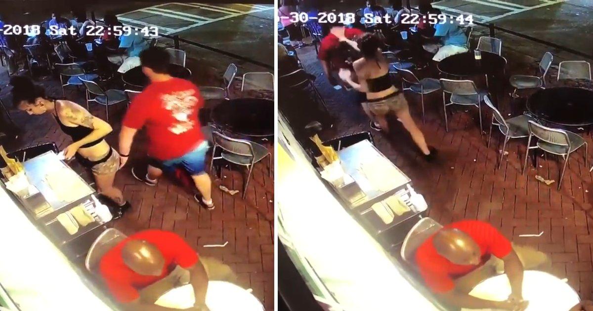 capa0000bvd.png?resize=1200,630 - Garçonete é assediada dentro de restaurante e sua reação viraliza
