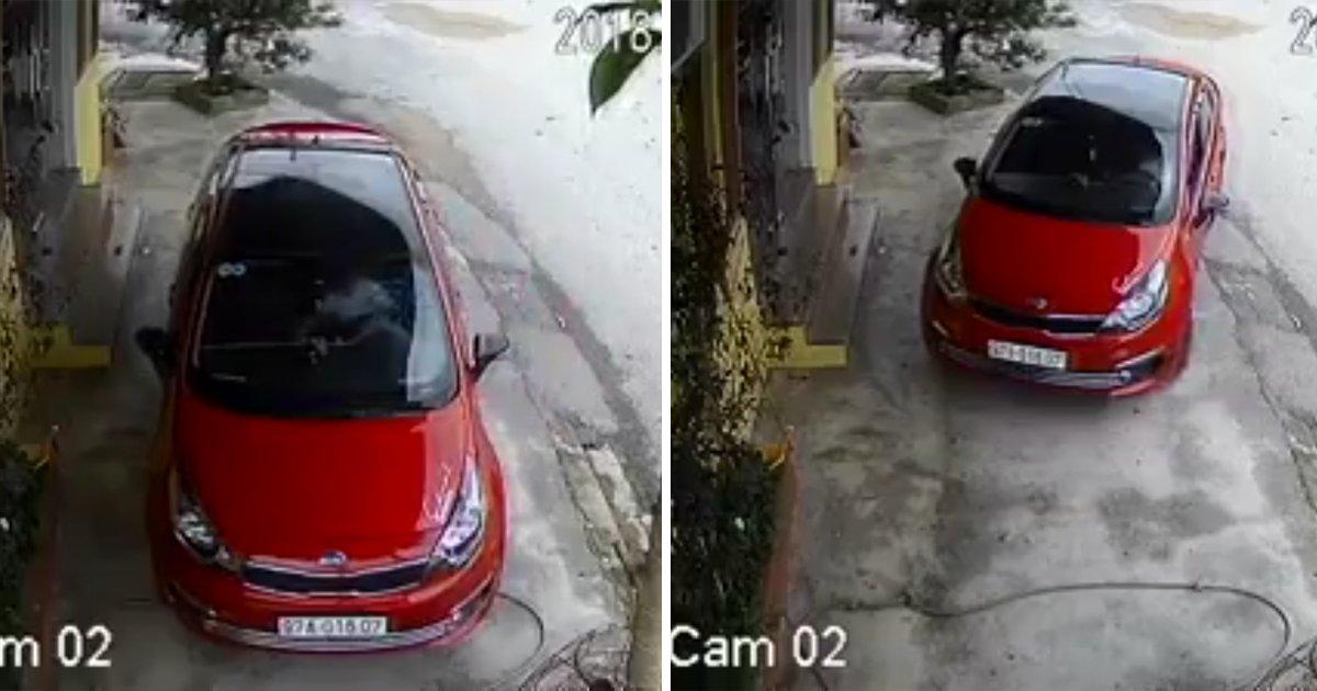 capa1bbnn.png?resize=1200,630 - Vídeo mostra a dificuldade que uma mulher enfrenta para sair de casa com o carro