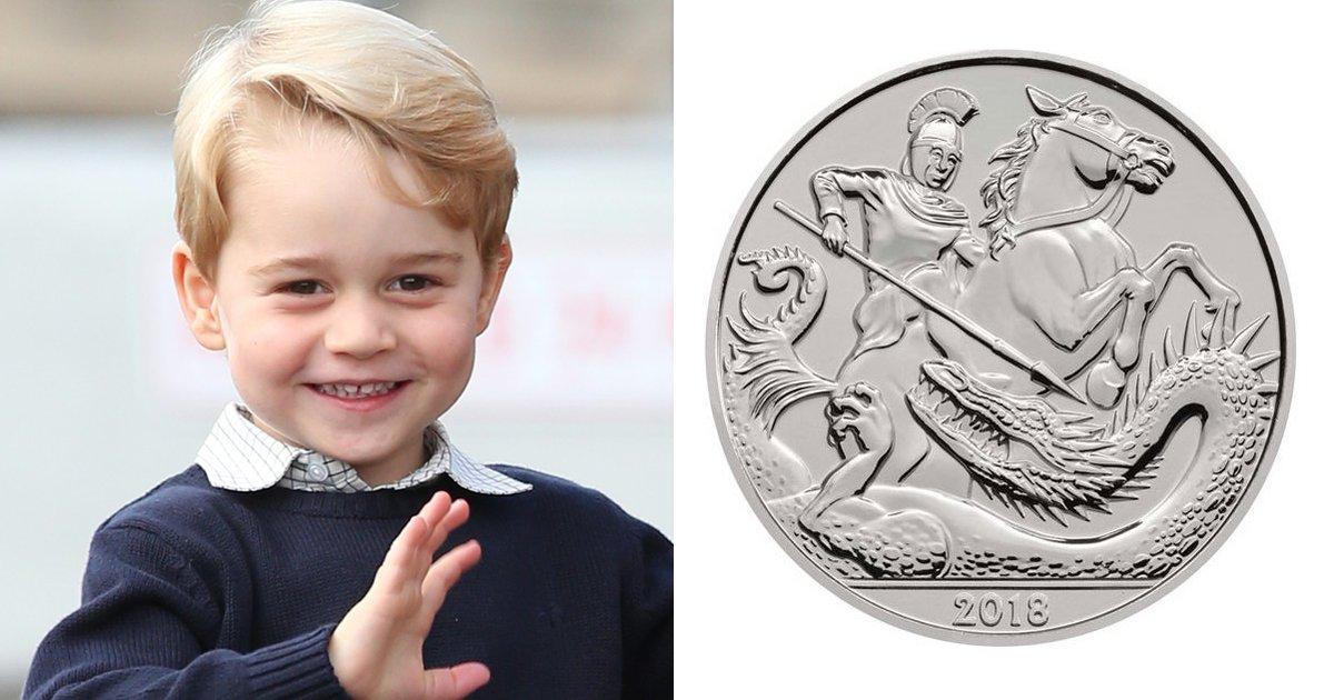 capa1f.png?resize=1200,630 - Príncipe George ganha moeda comemorativa para celebrar seu aniversário