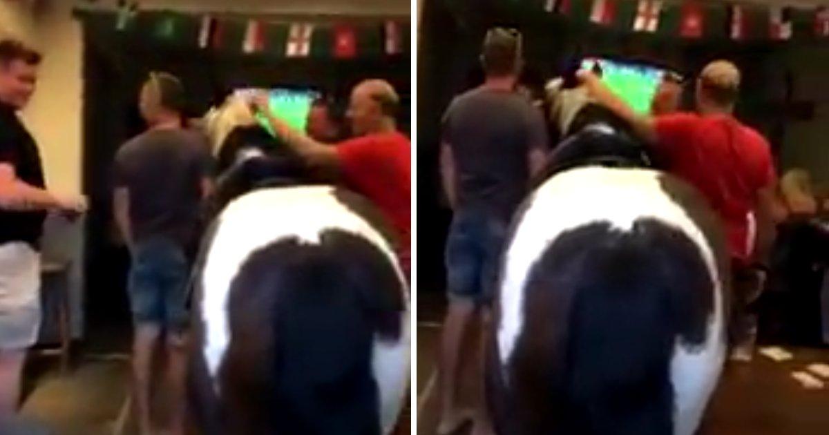 capa3.png?resize=1200,630 - O quê? Uma pessoa levou um cavalo para um pub para assistir ao jogo da Inglaterra!