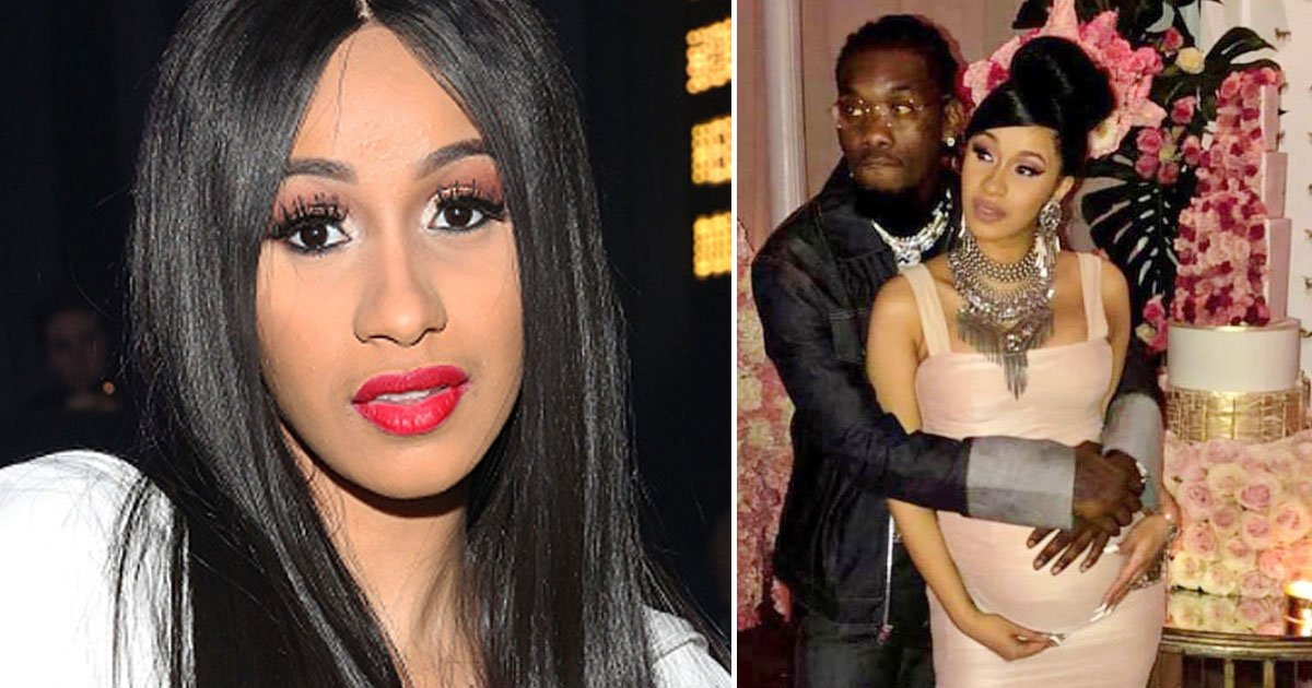 cardi b offset.jpg?resize=636,358 - Cardi B And Her Husband Offset Welcomed Their First Child, Named Her Kulture