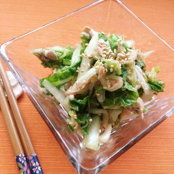 白菜とツナのピリ辛和え에 대한 이미지 검색결과