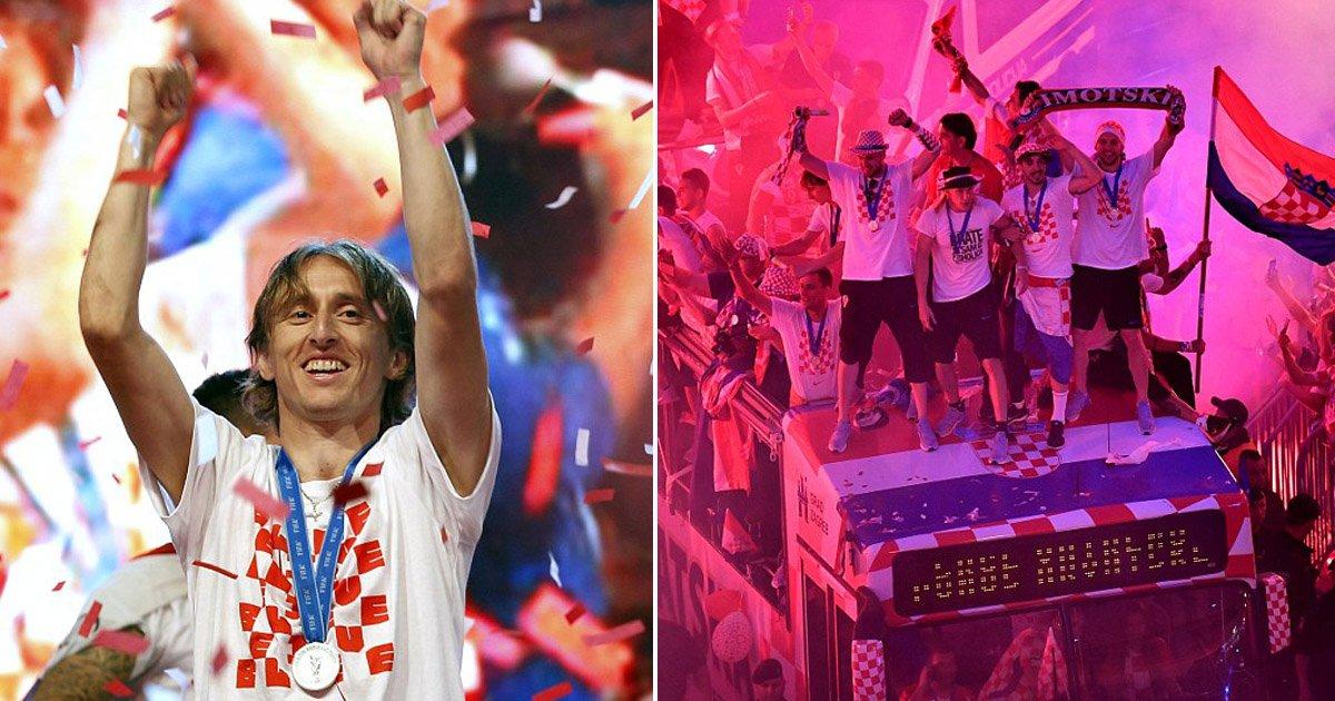 cc.jpg?resize=300,169 - 월드컵 '준우승'한 선수들에게 '역대급' 귀국 파티 열어준 크로아티아 국민들 (영상)