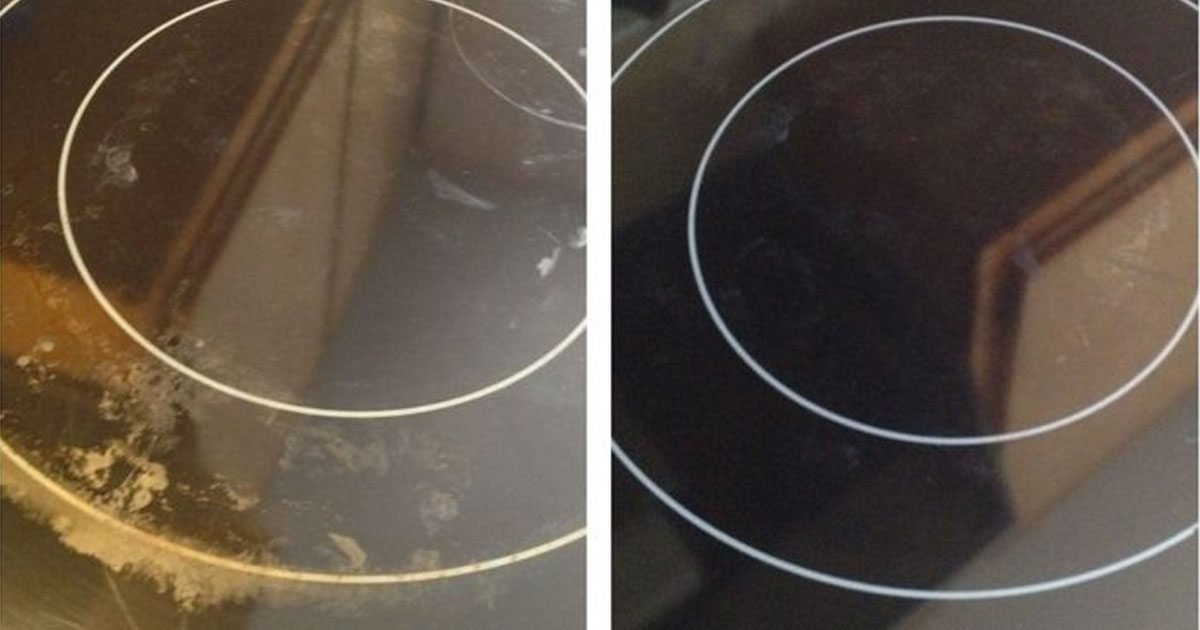 clean glass top stove featured2.jpg?resize=412,232 - 6 Nifty Hacks To Make Your Glass Stove Top Sparkling Clean Again