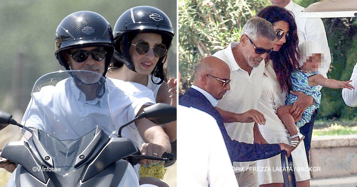 clo.jpg?resize=300,169 - Las secuelas del accidente que George Clooney sufrió al impactar su motocicleta contra un automóvil