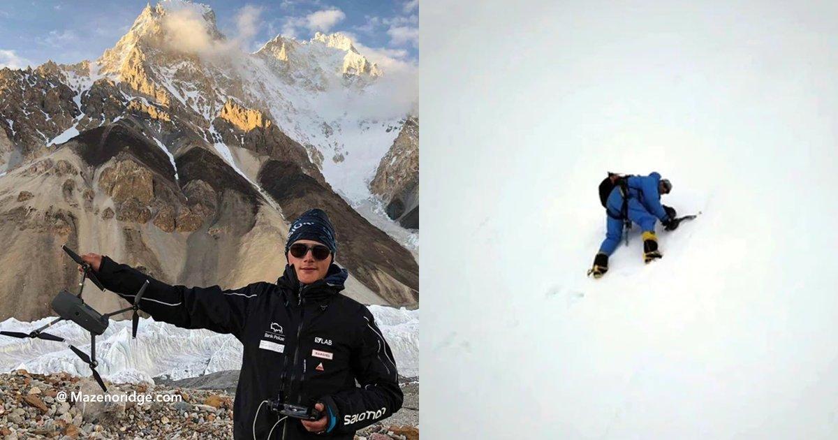 cov 3 14.png?resize=1200,630 - O momento dramático em que um drone encontra no Himalaia o alpinista que foi deixado para morrer