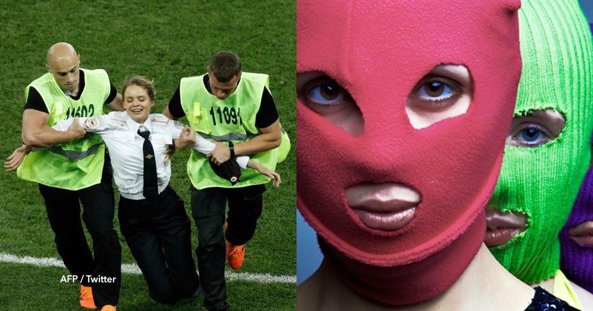 cov 3 5.png?resize=300,169 - El grupo activista Pussy Riot organizó la invasión del campo en la final del Mundial Rusia 2018 ¿Quienes son?