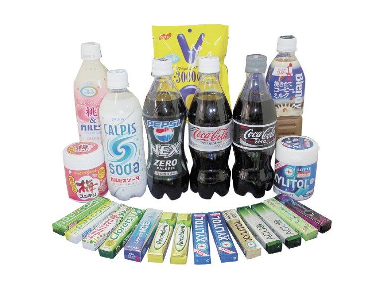 人工甘味料에 대한 이미지 검색결과