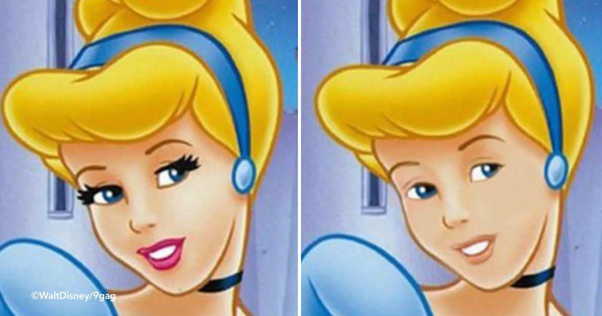 disney.jpg?resize=648,365 - Así lucen los personajes de Disney sin maquillaje