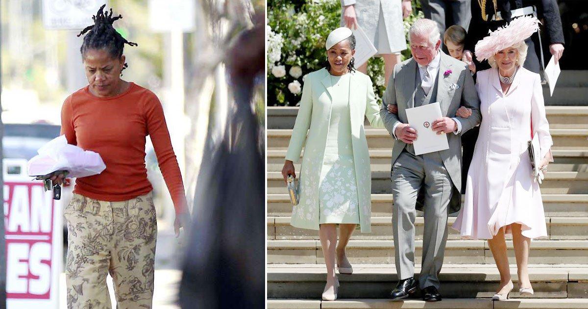 doria ragland prince charles.jpg?resize=1200,630 - Un ami du prince Charles a décrit la famille de Meghan Markle comme «terriblement commune»
