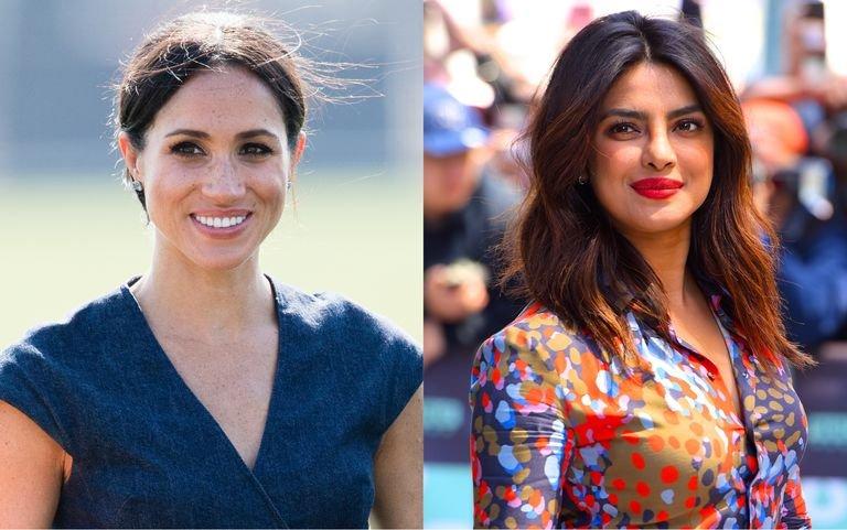 """duchess sussex priyanka chopra engagement nick jonas 1532767853.jpg?resize=300,169 - Relembre: no ano passado, Priyanka Chopra defendia Meghan Markle de ser reduzida ao título de """"namorada do príncipe Harry"""""""
