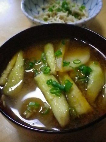 ナスオンリーの味噌汁에 대한 이미지 검색결과