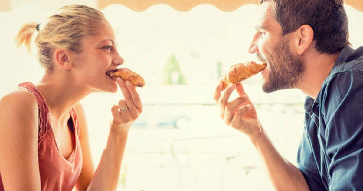 engorda.png?resize=412,232 - Engordar durante um relacionamento é sinal de felicidade, diz estudo