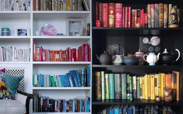 estante 1679353.jpg?resize=300,169 - 10 jeitos divertidos de arrumar a estante de livros