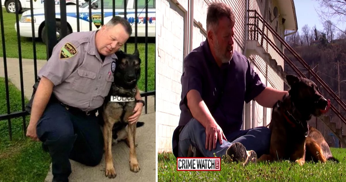 faaa.jpg?resize=636,358 - Ohio ex-Cop Gets his Canine Partner for a Dollar, Community's $65,000 Donation Given To Charity