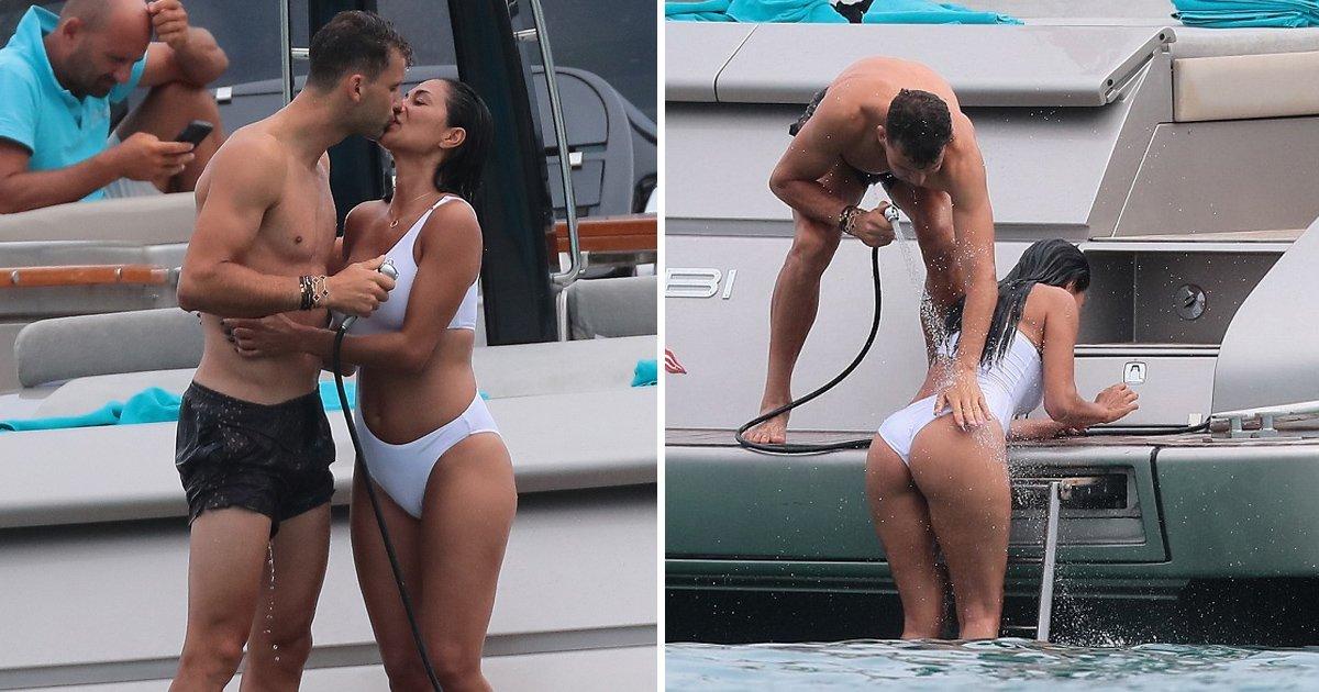 fafaf 1.jpg?resize=1200,630 - Nicole Scherzinger exhibe ses looks incroyables et son copain joueur de tennis Grigor Dimitrov lors d'une excursion en bateau à Saint-Tropez