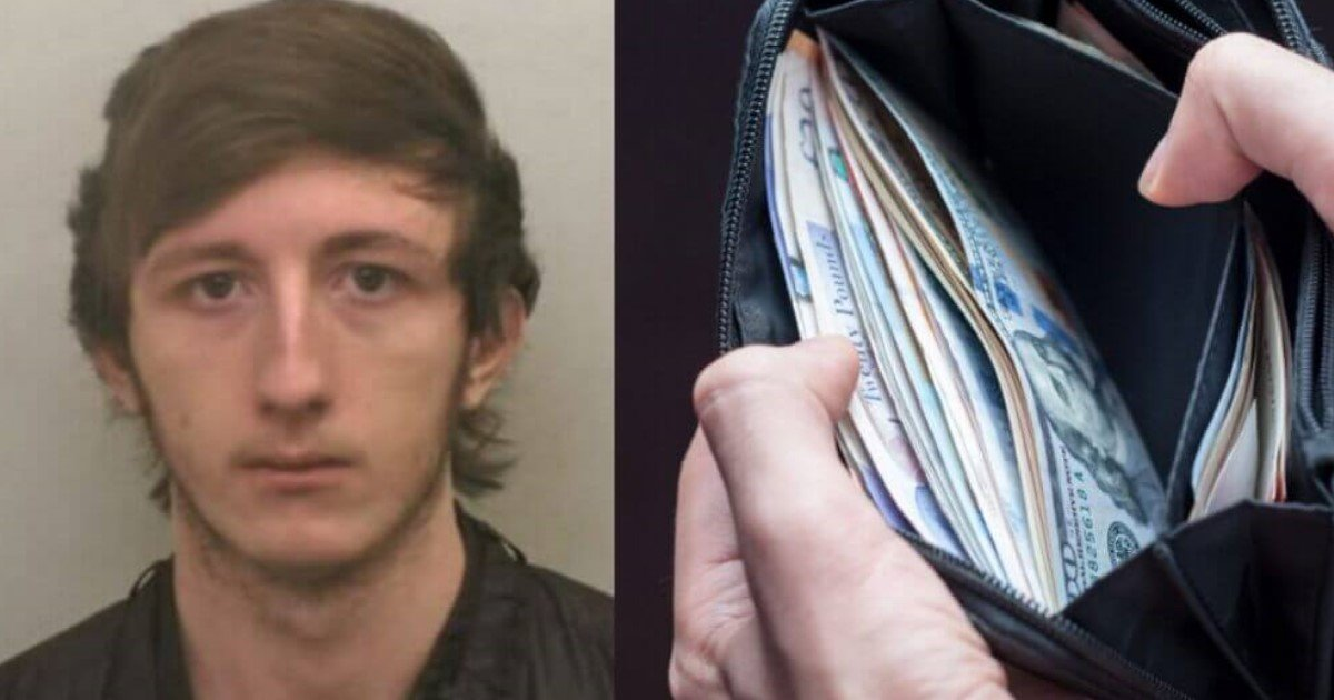 featured image 4.jpg?resize=412,275 - Teen Robbed Man But After Looking Inside The Stolen Wallet He Went To Police And Turned Himself In