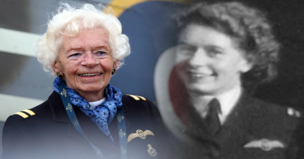 featured image.jpg?resize=636,358 - Mary Ellis, The Legendary WWII Pilot And The Last Of The Spitfire Girls, Passes Away Aged 101