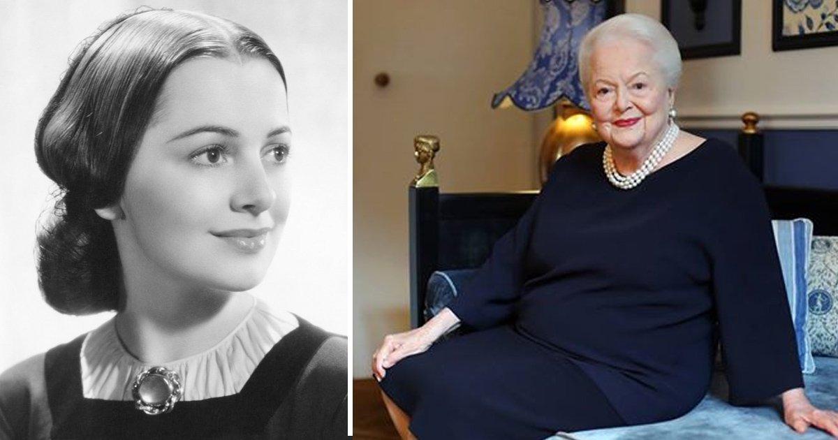 gaag 1.jpg?resize=1200,630 - L'actrice de «Autant en Emporte le Vent» Olivia De Havilland a 102 ans et elle est aussi belle que jamais
