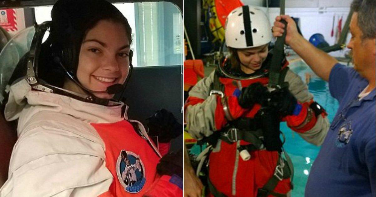 going to mars.jpg?resize=412,232 - Une jeune fille de 17 ans obsédée par l'espace collabore avec la NASA pour réaliser ses rêves d'aller sur Mars