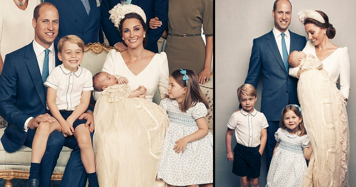 hahaaaa.jpg?resize=366,290 - George and Charlotte Steal the Show in Beautiful Outfits