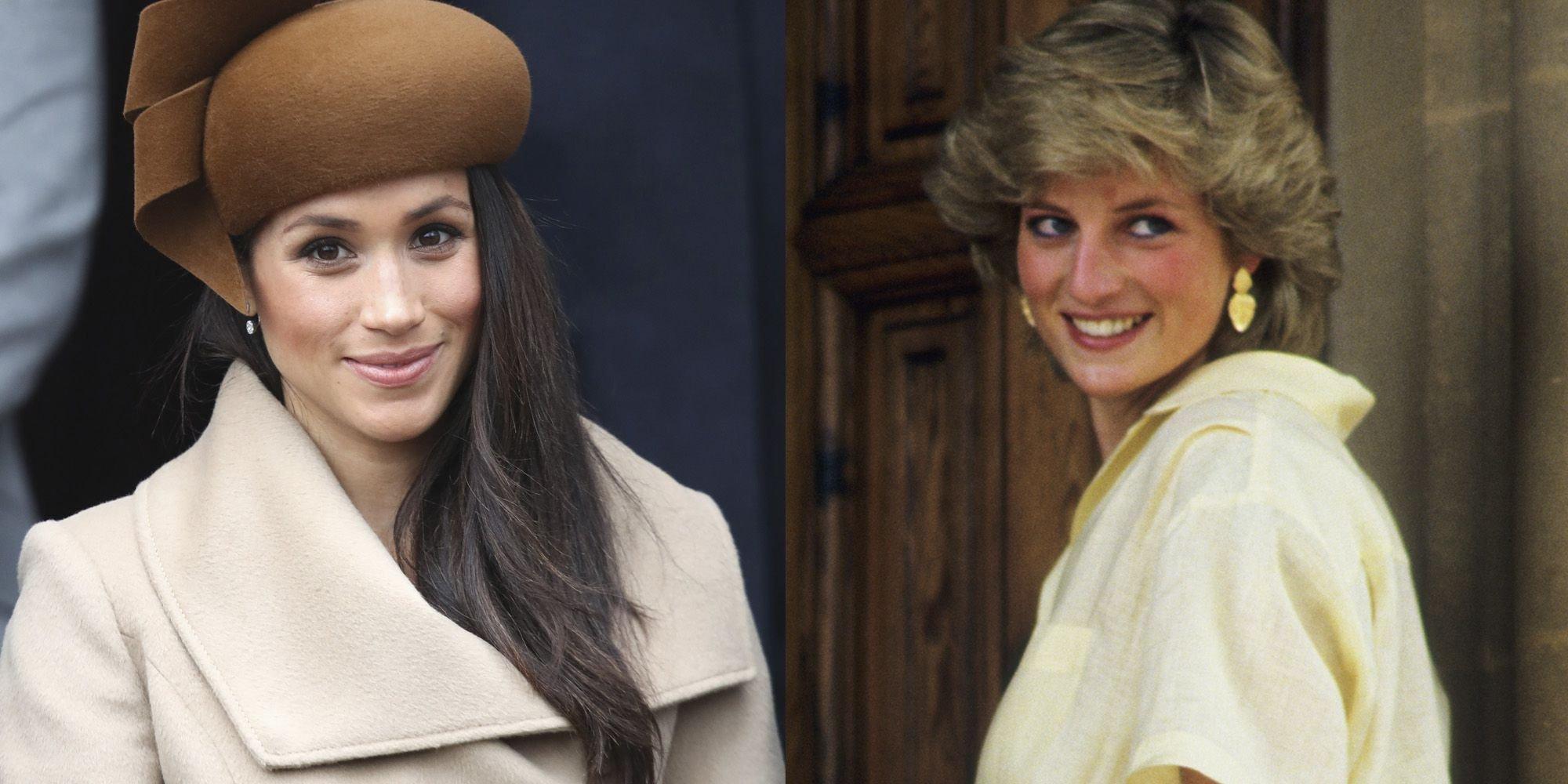 """hbz meghan markle princess diana 1522694547.jpg?resize=300,169 - Irmão de Meghan Markle implora à rainha: """"Não deixe minha irmã morrer como a Diana!"""""""