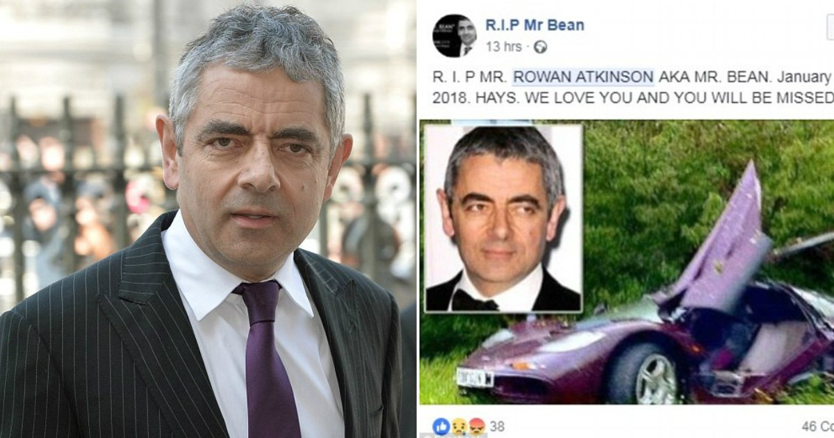 hoax.jpg?resize=636,358 - Is Rowan Atkinson Dead? Here's The Truth Behind Resurfacing Death Hoax About Mr. Bean Actor