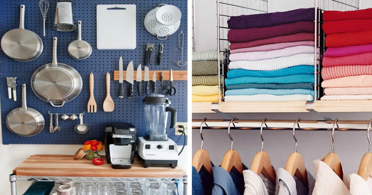 home hacks.jpg?resize=412,232 - 20 brilliant ways to organize your home