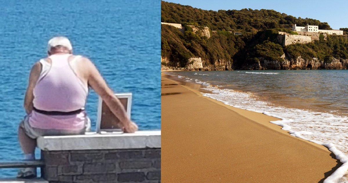 img 5b475d8f2692d.png?resize=1200,630 - 매일 아침 '아내 사진' 안고 해변가에 나오는 할아버지의 감동적인 사연
