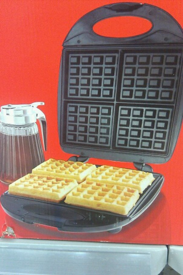 Number Of Holes In These Waffles Doesn